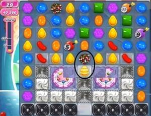 Candy Crush Level 505 help