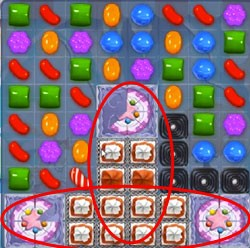 Candy Crush Level 508 cheats