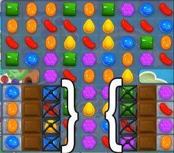 Candy Crush Level 53 tip