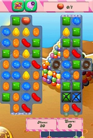 Candy Crush Level 158 tip