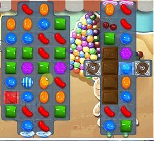 Candy Crush Level 158 cheats