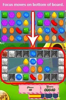 Candy Crush Level 197 cheats