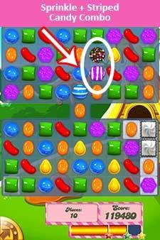 Candy Crush Level 197 help