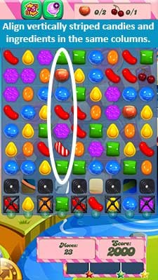 Candy Crush Level 92 help
