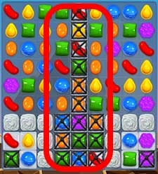 Candy Crush Level 37 tip