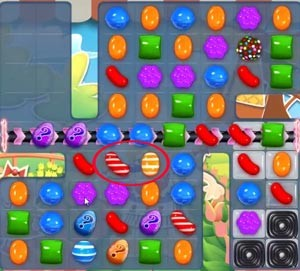 Candy Crush Level 594 help