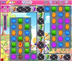 Candy Crush Level 596 help