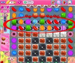 Candy Crush Level 598 tip