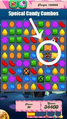 Candy Crush Level 98 help