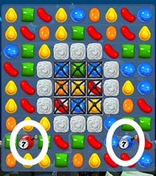 Candy Crush Level 99 tip