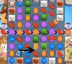 Candy Crush Level 534 cheats