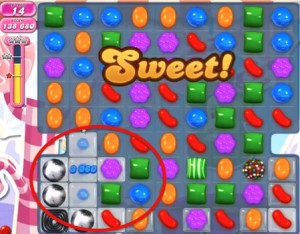 Candy Crush Level 494 help
