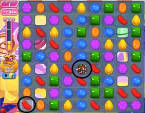 Candy Crush Level 295 help