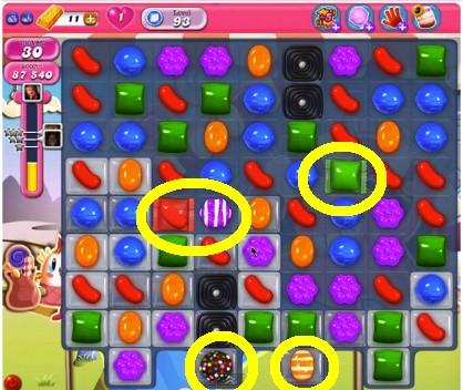 Candy Crush Level 93 help