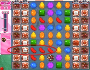 Candy Crush Level 286 tip