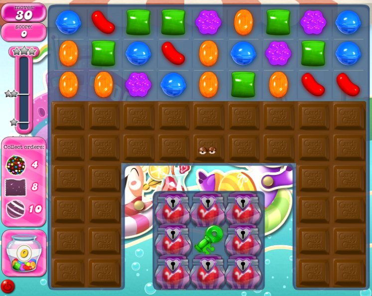 candy crush level 1030 cheats