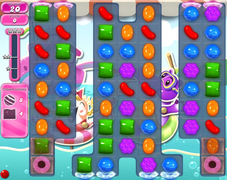 candy crush level 1032 cheats