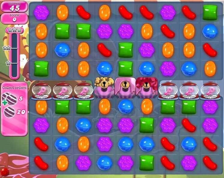 candy crush level 1045 cheats