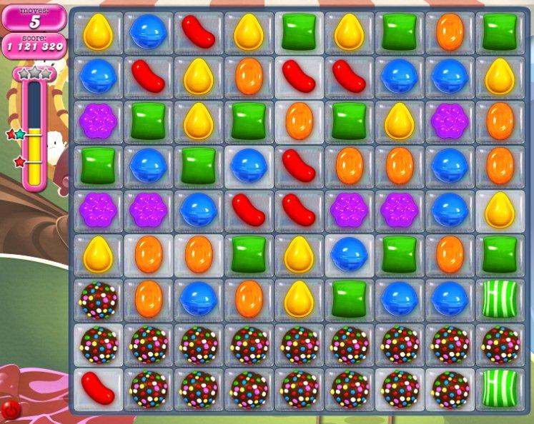 candy crush level 1055 cheats