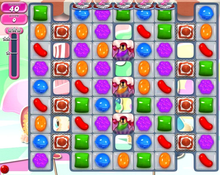 candy crush level 1058 cheats