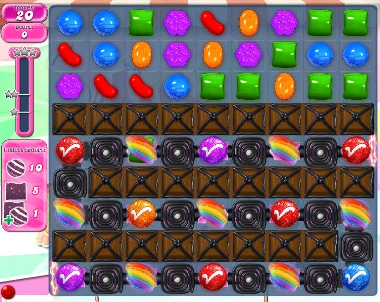 candy crush level 1060 cheats