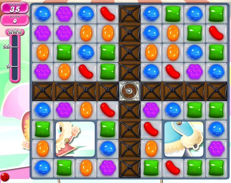 candy crush level 1061 cheats