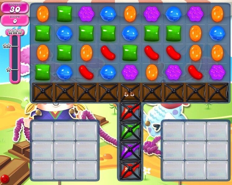 candy crush level 1071 cheats