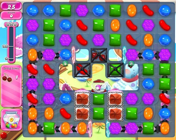 candy crush level 1075 cheats