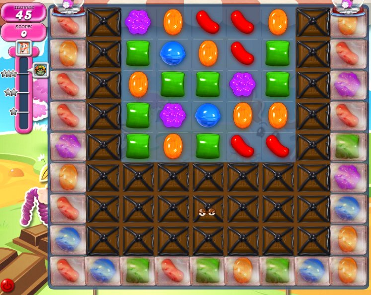 candy crush level 1076 cheats