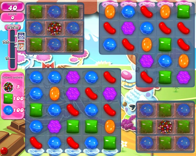 candy crush level 1077 cheats
