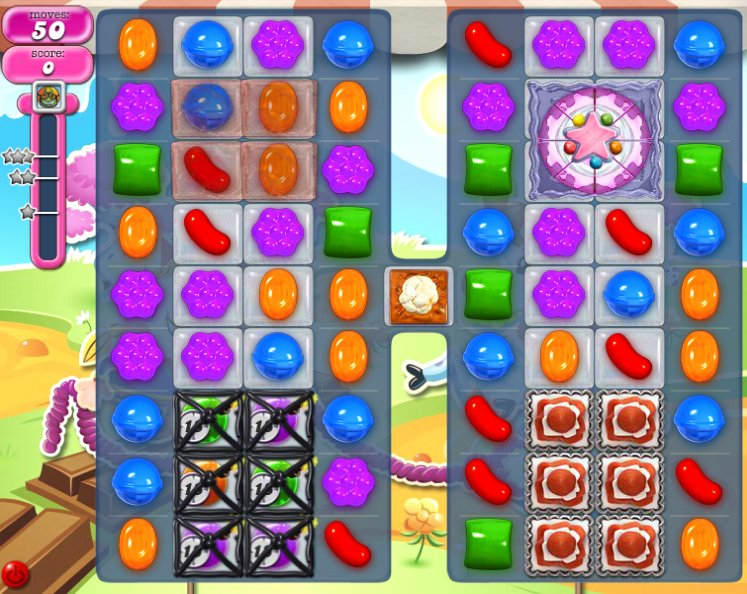 candy crush level 1078 cheats