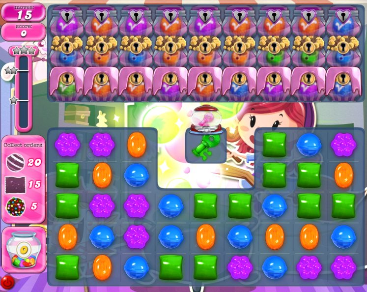 candy crush level 1088 cheats