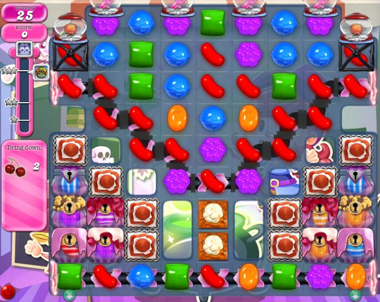 candy crush level 1097 cheats