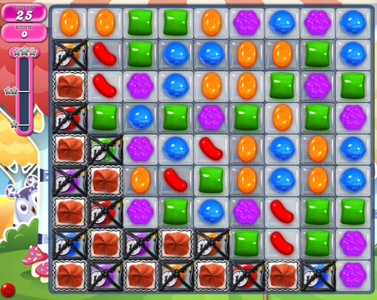 candy crush level 1194 cheats