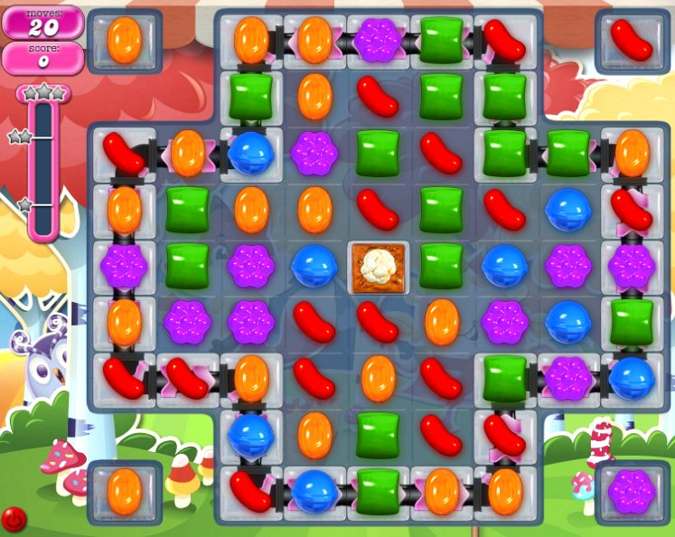 candy crush level 1195 cheats