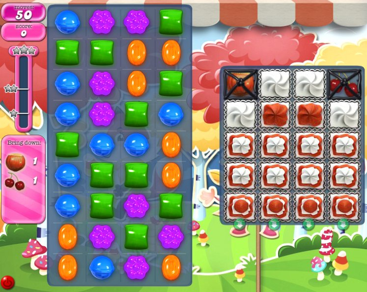 candy crush level 1197 cheats