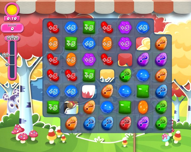 candy crush level 1198 cheats