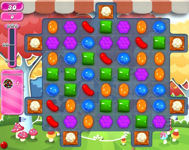 candy crush level 1200 cheats