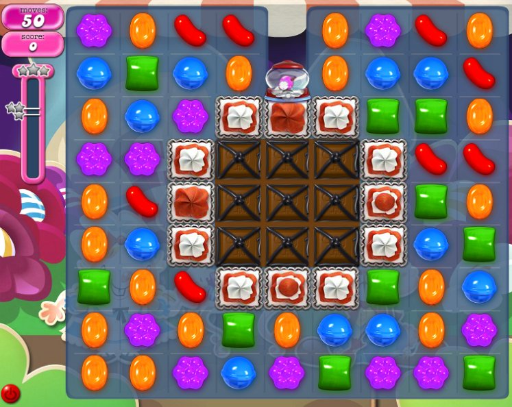 candy crush level 1234 cheats