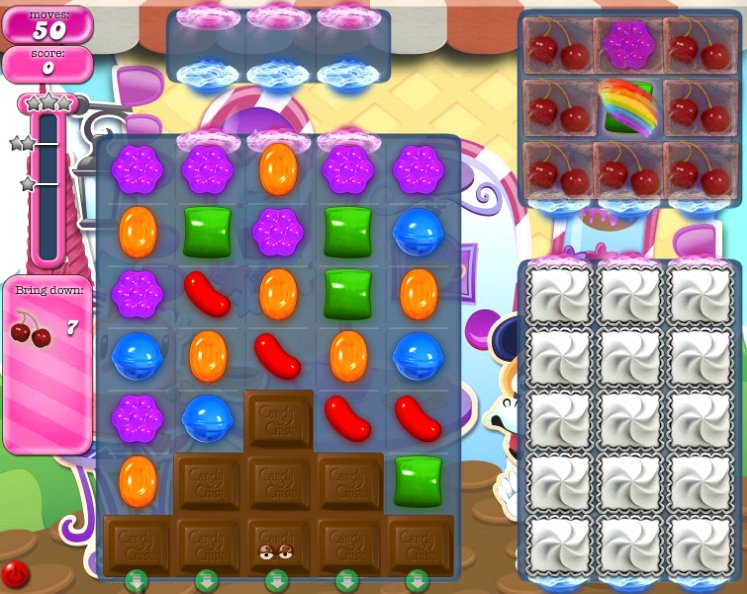candy crush level 1259 cheats