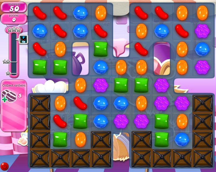 candy crush level 1325 cheats