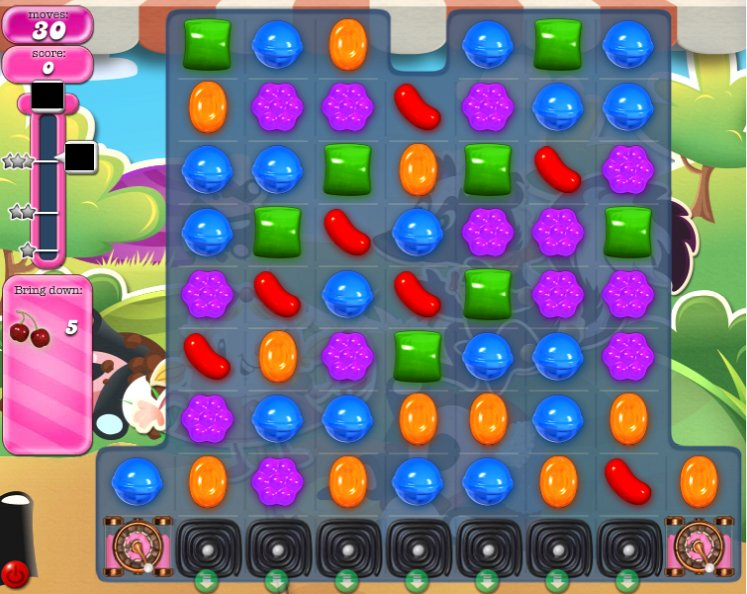 how to pass level1808 on candy crush