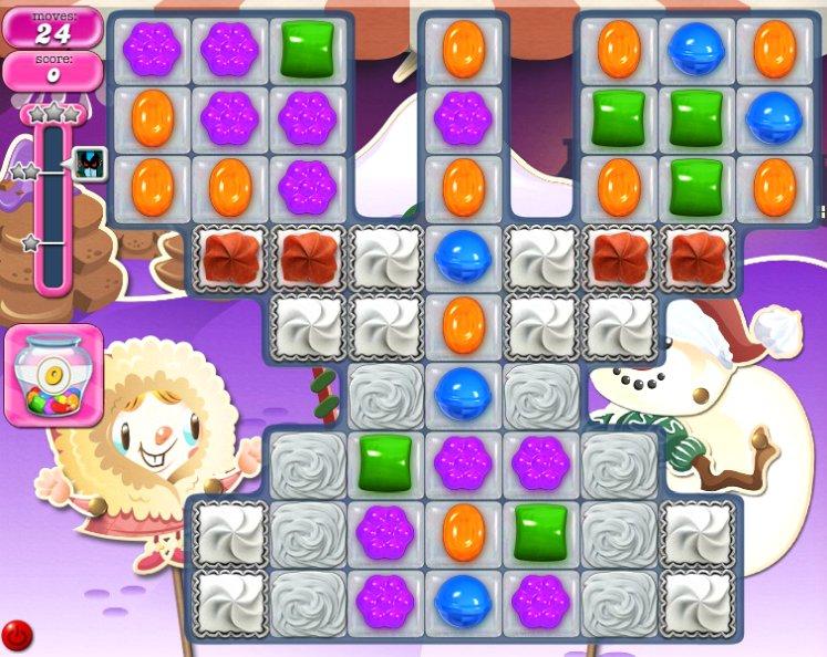 candy crush level 1386 cheats