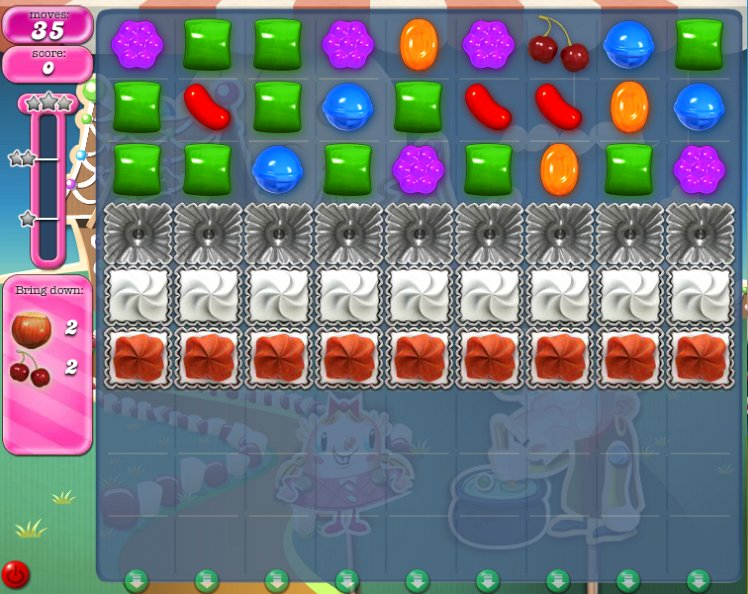 candy crush level 142 cheats
