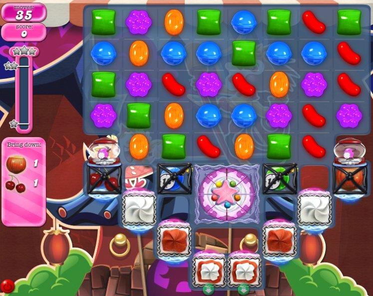 candy crush level 1487 cheats