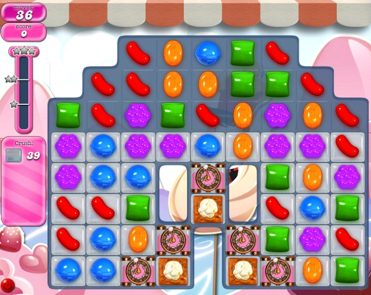candy crush level 1493 cheats