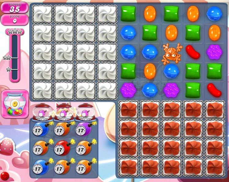 candy crush level 1495 cheats