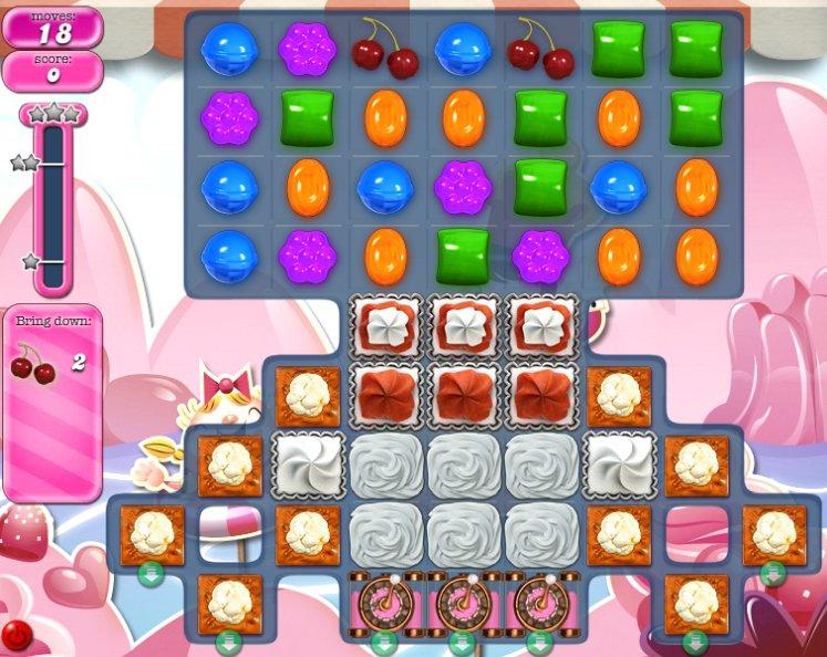 candy crush level 1498 cheats