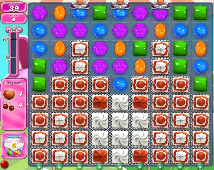 candy crush level 1582 cheats
