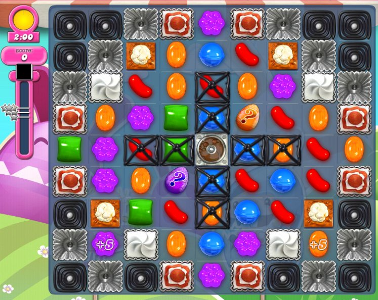 candy crush level 1595 cheats